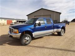 1999 Ford Super Duty F350 4x4 Crew Cab Pickup