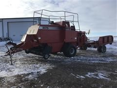 2000 Case IH 8575 Big Square Baler W/Accumulator