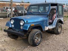 1978 Jeep CJ5 4x4 SUV