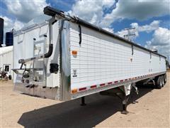 2010 Wilson DWH 550 Tri/A Grain Trailer