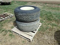 Bridgestone & Goodyear 425/65R22.5 Tires