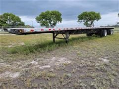 2007 Great Dane T/A Flatbed Trailer
