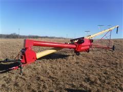 """Westfield MK100-71 10""""x71' Auger W/ Swing-Away Hopper"""