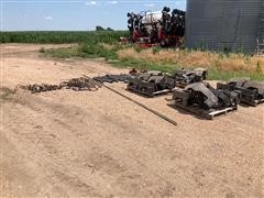 Case IH 1255 Planter Parts With Hoppers-meter Units-plates And Drive Unit Parts