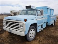 1978 Ford F600 2WD Service Truck