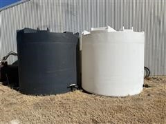 Sii 3000 -Gal Liquid Poly Tanks