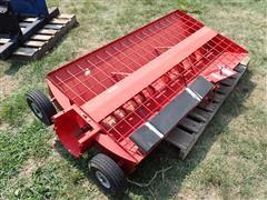 """Feterl 32""""X60"""" Truck Hopper For 8"""" Swing Hopper"""