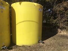 Single 3000-Gallon Poly Fertilizer Tank