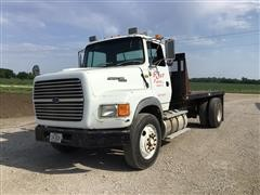 1993 Ford Aeromax L9000 S/A Flatbed Truck