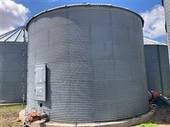 Eaton 6000 Bushel Grain Bin W/drying Floor