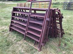 9' Steel Interlocking Livestock Fence Panels