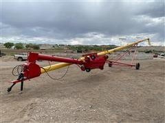 Westfield MK100-71 Portable Grain Auger W/Roll Away Hopper