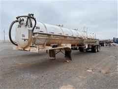 2012 CT Fabrication VR150 T/A Tanker Trailer