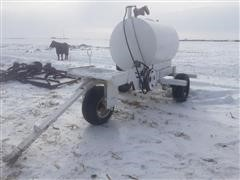 500 Gallon Trailer & Pump