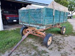 Harvest Wagon W/hoist
