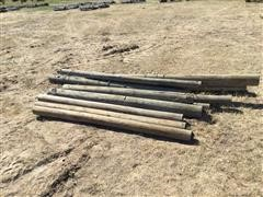 6' Wooden Fence Posts