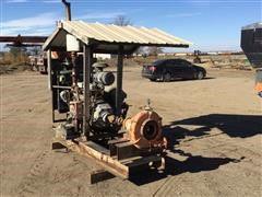 NACP Power Take Off Diesel Powered Water Pump