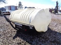 Helicopter Front Mount Poly 400 Gal Helicopter Tank