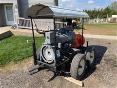 Berkeley B6JRMBM CCW Booster Pump W/Deutz F51912 Power Unit On Cart