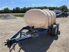Duo Lift 1235 Gal Water Tank On Trailer