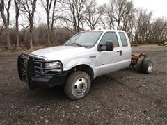 2006 Ford F350 Super Duty 4x4 Extended Cab & Chassis (INOPERABLE)