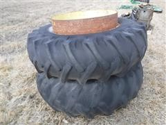 CO-OP Powr2Duals 18.4x34 Clamp-on Dual Wheels & Tires