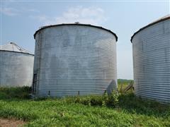 York 10,000 Bushel Grain Bin