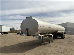 1974 Timpte-Beall 4 Compartment T/A Tanker Trailer