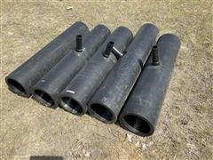 """10"""" Black Poly T Fittings"""