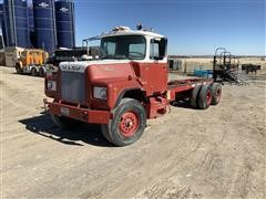 1974 Mack DM685S T/A Cab & Chassis