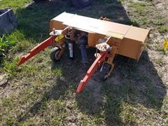 Woods T50 3-Pt Mid Mount Rotary Tiller W/2-Pt Adapting Arms