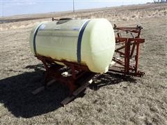 Kuker 300-Gal 3-Pt Sprayer W/45' Boom