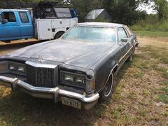 1977 Mercury Cougar Car