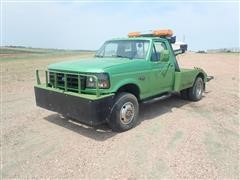1992 Ford F350XL 4x4 Dually Tow Truck