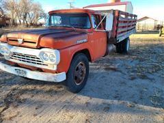 1960 Ford F600 S/A Grain Truck