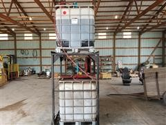 Air Powered Oil Pumps & Storage