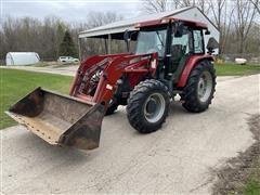 2003 Case IH JX90U Utility Tractor & Loader