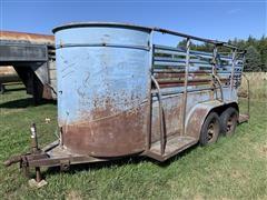 W-W Livestock Trailer
