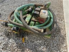 Honda GX160 Motor And Pump