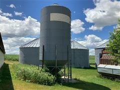 2000 Bushel Chicago Grain Holding Bin