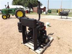 Cummins 4BT Industrial Frame-Mounted Diesel Power Unit