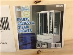 2020 Pure Steam & Bath Deluxe Jacuzzi Steam Shower