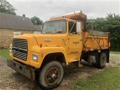 1990 Ford L8000 S/A Dump Truck