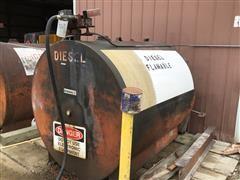 1000-Gallon Fuel Tank W/Pump