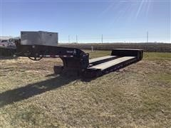 1997 Trail King TK50HDG-442 T/A Lowboy Trailer