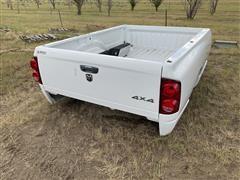 Dodge Ram 8' Truck Box w/ Rear Bumper