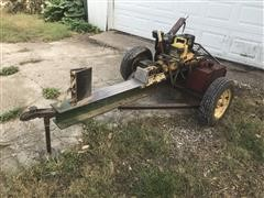 Shop Built Hydraulic Log Splitter