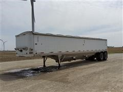 1987 Timpte T/A Hopper Bottom Grain Trailer