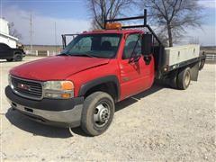 2001 GMC 3500 Flatbed Pickup