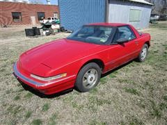 1990 Buick Reatta Front Wheel Drive 2 Door Car